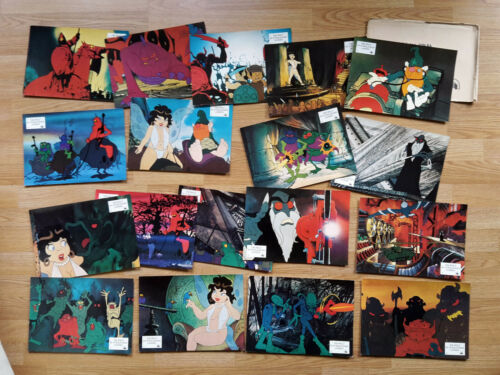 Ralph Bakshi WIZARDS 1976 - 18 vintage German lobby cards !
