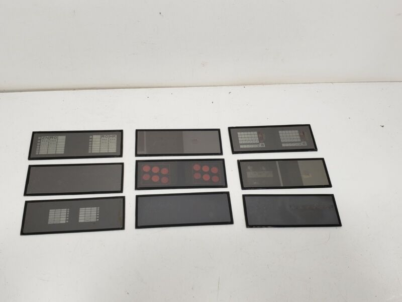 9 Slides for a TITMUS Optical OV-7M  Vision Tester Optometrist Tool Parts Only