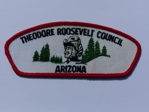 Theodore Roosevelt Council Arizona Boy Scout BSA CSP Council Shoulder Patch #T?