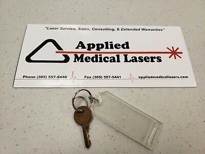 Cynosure Hoya Conbio Medlite Ii Spare Key For Medlite 2 Used Laser Key
