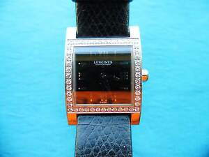 Longines Dolce Vita, diamond set bezel, Womens. Great cond. Hillarys Joondalup Area Preview