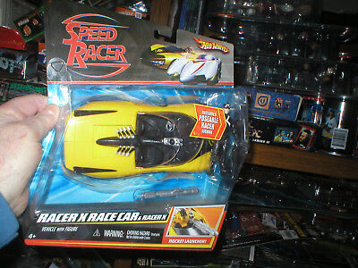 Used, HOT WHEELS RACER X RACE CAR WITH RACER X, NEVER OPENED for sale  Pittsfield