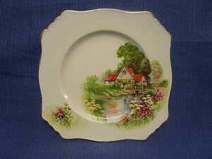 """D1010 Vintage ROYAL WINTON Grimwades """"RED ROOF"""" Plate Dish Unley Unley Area Preview"""