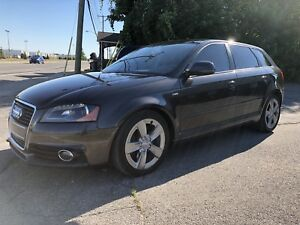 2009 AUDI A3 QUATTRO SLINE FULLY LOADED SUPER CLEAN LOW KM