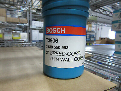Bosch T3906 2 Speed Core Bit New In Factory Tube