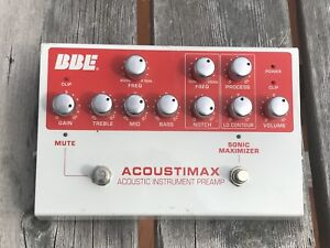 BBE Acoustimax Pedal