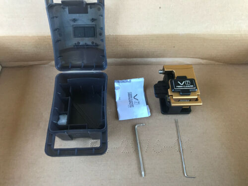 INNO V7 SM MM High Precision Single & Ribbon Fiber Optic Cleaver V-7 with Manual