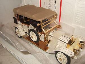 Rare Franklin Mint 1911 Rolls Royce Tourer Diecast Model in 1:24 Scale.
