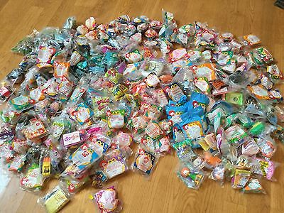 HUGE Lot Of 1990's McDonalds Happy Meal Toys Unopened 250 + Toys