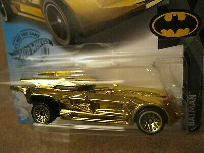 2020 Hot Wheels GOLD Chrome BATMOBILE super CUSTOM MADE treasure hunt dc batman