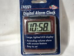 Travel Smart TS-611AC  Travel Alarm Clock