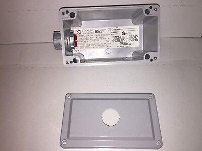 Stahlin Cf1pb Non-metallic Push Button Enclosure Nema Type 1 3r 4x 6p 12