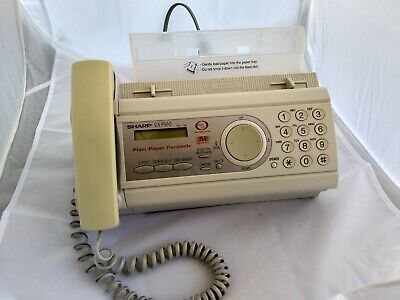 Sharp Model Ux-p100 Phone Fax Copier For Plain Paper