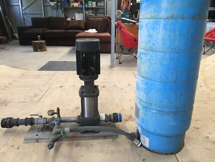 3 phase Grunfos pump