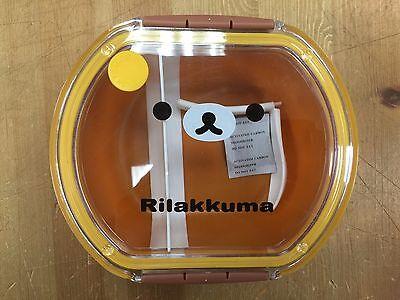 San-X Rilakkuma Bento Box Children Lunch Box, Case & Spoon