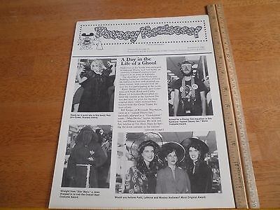 Disney Newsreel WED MAPO Employees magazine 1981 Halloween costume contest](Halloween Costume Contest Disney)