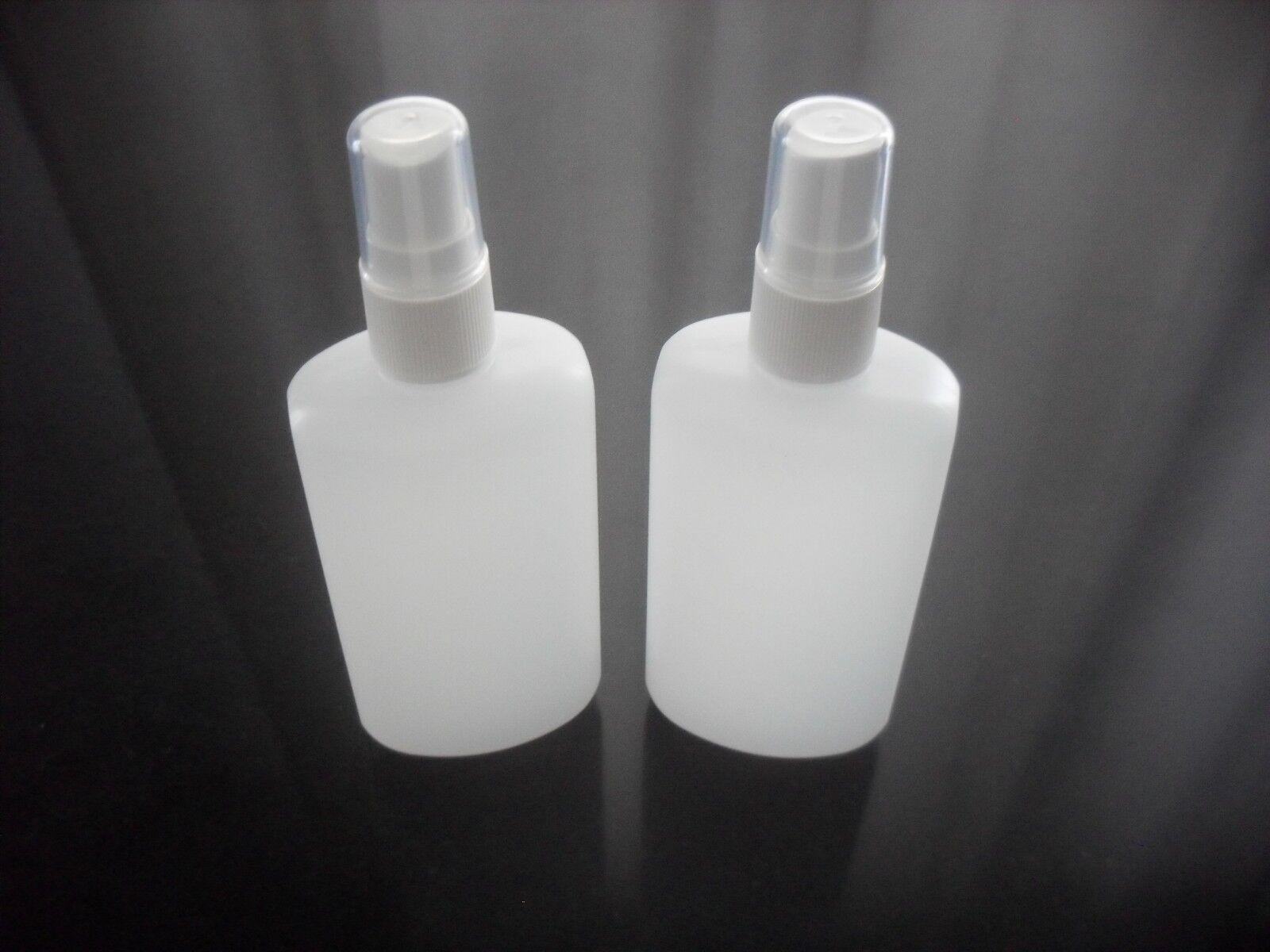 2 x Sprühflasche Zerstäuber Fingerzerstäuber 100 ml weiß