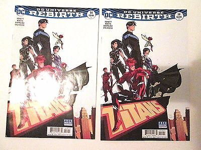 2 Titans #14 Dc Universe Rebirth Lot The Tempest's Vow Trident Make Me an Offer