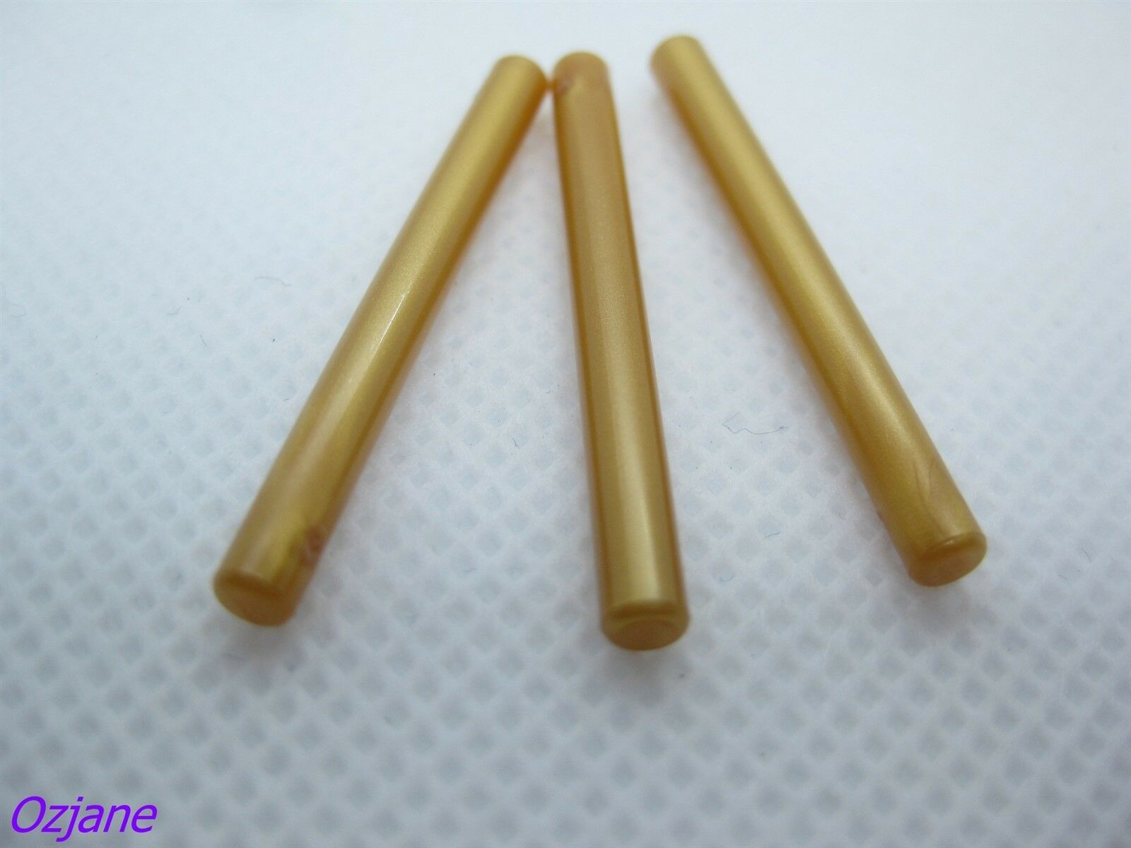 NEW LEGO LOT OF 5 Pearl Gold Bar 4L 1 x4 Lightsaber Blade // Wand