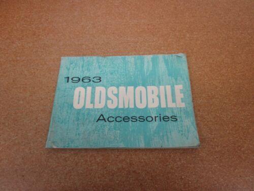 ORIGINAL 1963 Oldsmobile Accessories 98 88 F-85 Starfire sales brochure