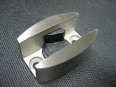 Bodenführung Edelstahl V2A für Glasschiebetüren, Schiebetür, Glastür 8, 10,12 mm