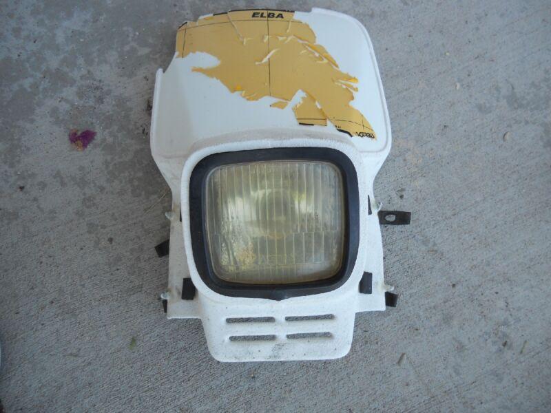 1979 WR390 HUSQVARNA FRONT HEAD LIGHT