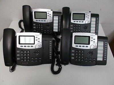 Lot 4pcs Digium D50 1teld050lf Office 4-line Hd Voice Ip Phone Handsets Stands