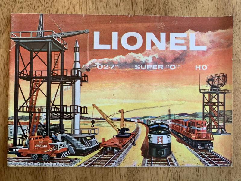 1958 Lionel Catalog - Vintage Original
