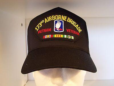 #1455 173rd Airborne Brigade Vietnam Cap Ballcap Hat ()