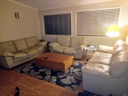 Nick Scali leather lounge