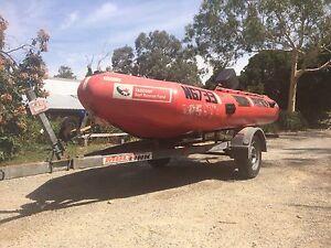 Achilles inflatable (ex surf rescue) 2002 Warranwood Maroondah Area Preview