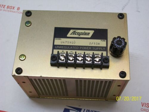 ACOPIAN UNREGULATED POWER SUPPLY , U475Y02