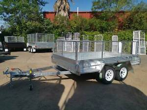 10x6 GALV BOX TRAILER 600MM CAGE Vineyard Hawkesbury Area Preview