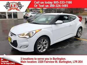 2017 Hyundai Veloster Automatic, Bluetooth, Steering Wheel  Cont
