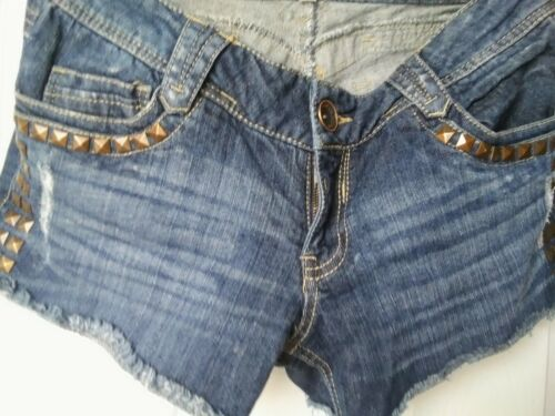 Jean Shorts Women ,Jolt Brand Size 5. Awesome , Studded Detail .great Condition - $4.00