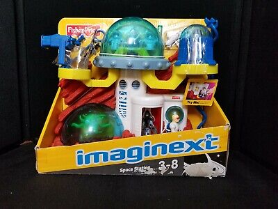 2009 Fisher Price Imaginext Space Station P6461 New In Box