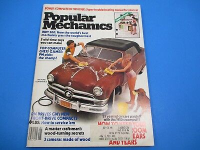 Popular Mechanics Magazine May 1979 5 Old Time Toys You can Make Indy 500