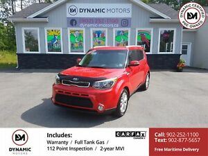 2015 Kia Soul EX HEATED SEATS! BT! OWN FOR $135 B/W, 0 DOWN, OAC