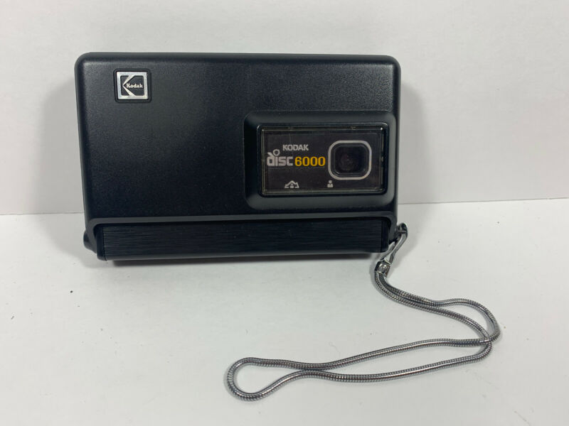 KODAK Disc 6000 Film Compact Photo Picture Point & Shoot Camera UNTESTED