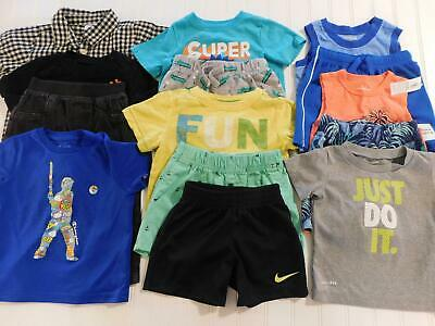 Baby Boy 18 18/24 Month Spring Summer Shirt Shorts Clothes Outfit Lot FREE SHIP