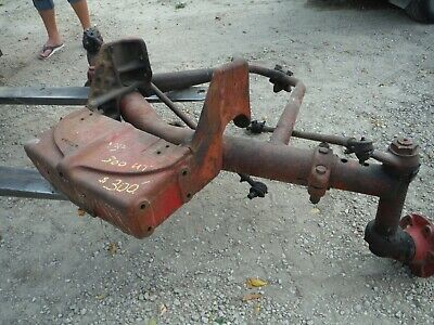 Ih Farmall Tractor 300 350 Utility Wide Front With Hubs