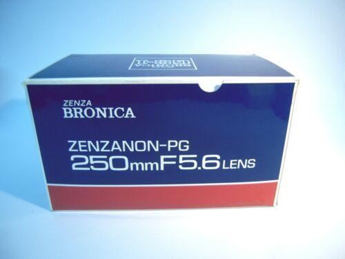 Brand New Zenza Bronica PG 250mm f/5.6 Lens/Ship FedEx—K101
