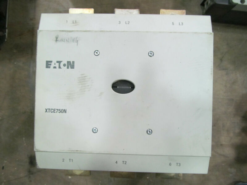 Eaton XTCE750N Contactor With 110-250 V Coil