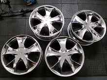 "18"" chrome mags 5x114.3 ford Paralowie Salisbury Area Preview"