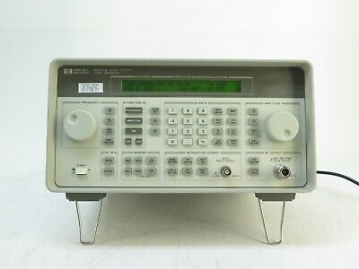 Hp Agilent 8647a Synthesized Signal Generator 250khz To 1ghz