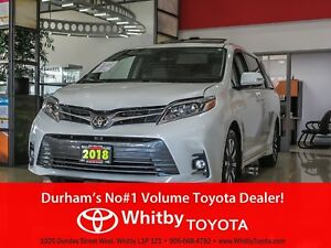 2018 Toyota Sienna XLE AWD LTD PACKAGE 7 PASSENGER