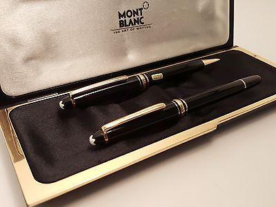 MONTBLANC Meisterstuck Classique 163 Rollerball Pen & 165 Mechanical Pencil Set