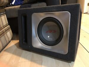 "10"" Alpine Type R Sub"