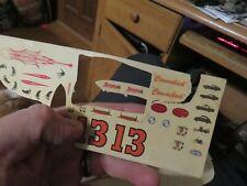 """vintage Unused Original AMT /""""YENKO STINGER/"""" CORVAIR 5728-7 Decal Sheet"""