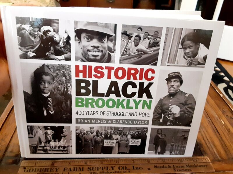 HISTORIC BLACK BROOKLYN  African-American History 312p Book nearly 4 lbs EDITION